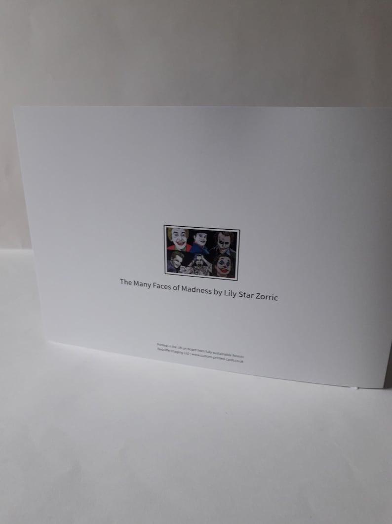 joker greetings card dc joker heath ledger joker joaquin