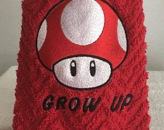 Super Mario Nintendo hand towels