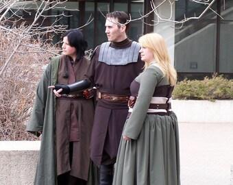 Jedi Cloak Custom Made Wizard Sith Cosplay Costume