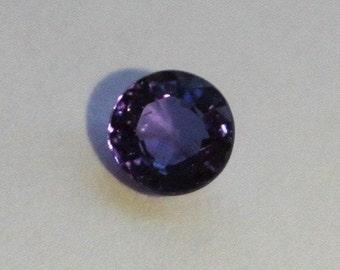 48 Ct//8mm Round Cut Purple Sapphire 12 Pcs Natural Gemstone Lot AGSL Certified