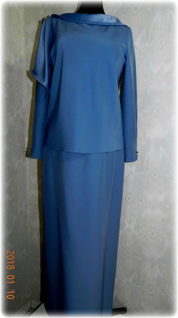 Retro Vintage Periwinkle Blue Plus Size Mother of the Bride \