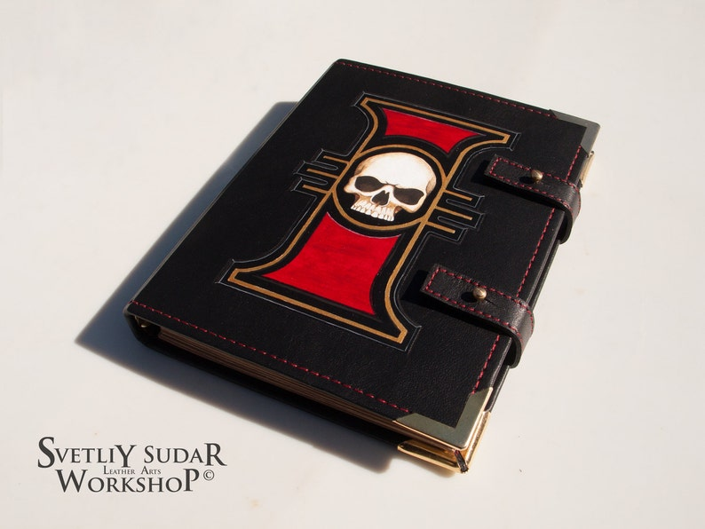 Leather Journal Inquisitor / Inspired universe Warhammer image 0