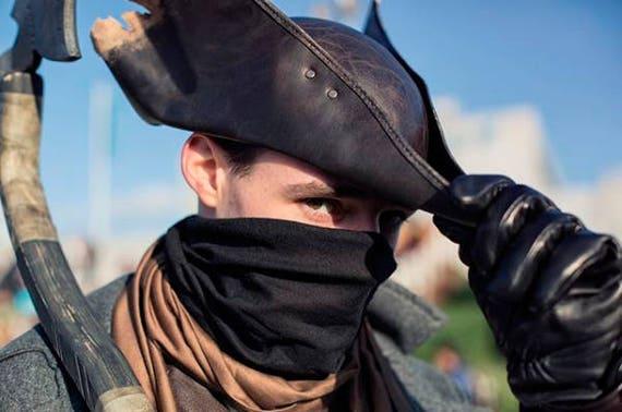 Bloodborne Hunter Leather Hat Replica V1 Larp Fantasy Etsy