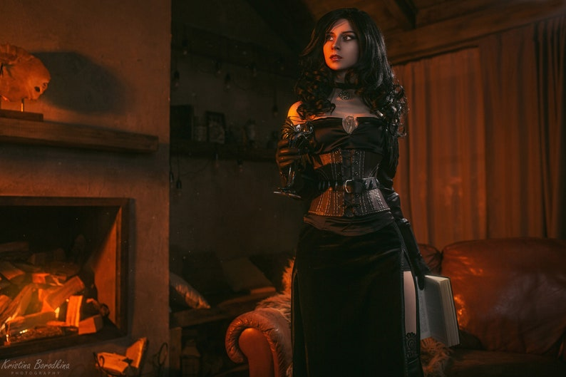 Yennefer corset replica / Inspired Witcher 3 Wild Hunt image 0