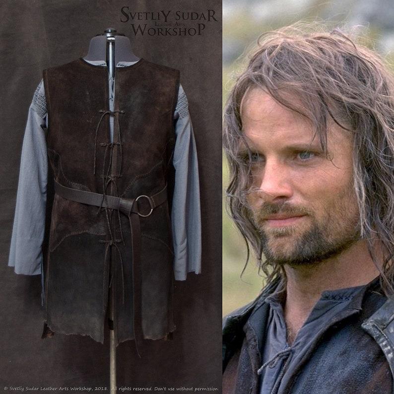 Inspired Aragorn Gray Shirt / Strider's Shirt / LOTR image 0