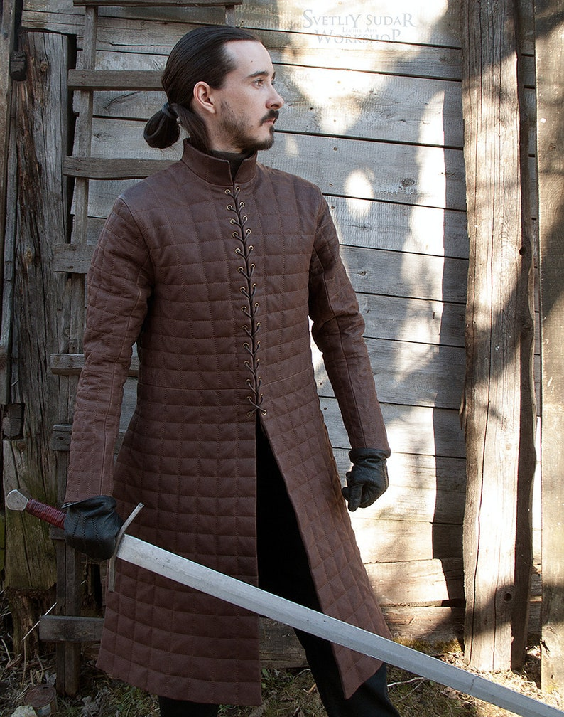 Jon Snow Quilted Armor replica / House Stark / Medieval image 0