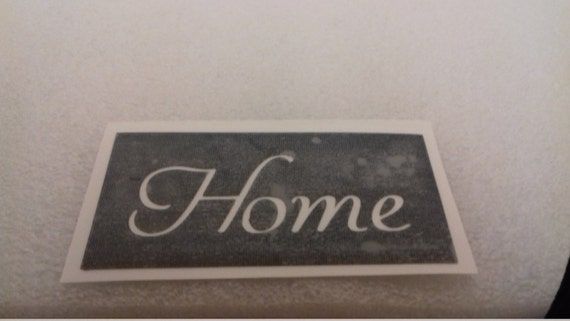 10 x Granny word stencil for etching on glass present gift Mothers Day Nan Nanna