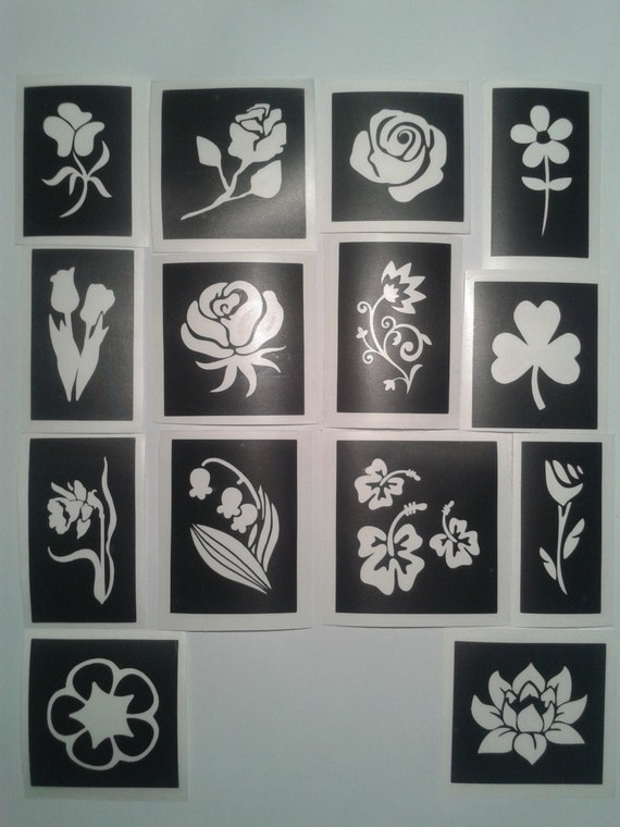 For Home Decor Bluebells Flower Reusable Wall STENCIL DIY arts /& crafts 10124