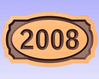 Custom Year Sign