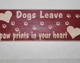 Dog heart sign