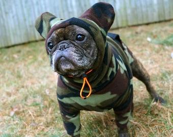 589f163dd74 Snorf Industries  Adjustable-Hood BatHat Hoodie for Frenchies and Boston  Terriers. Keep Bat-Ears Cute   Warm!