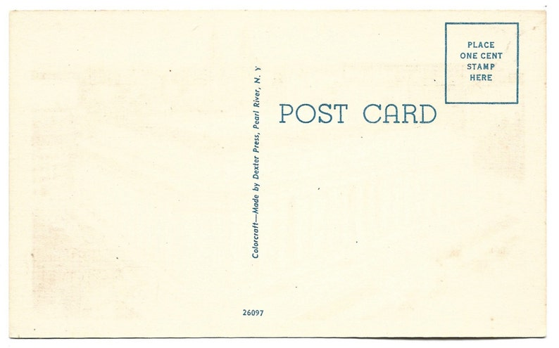 Vintage Linen Postcard Mellon Institute at Pittsburgh Pennsylvania 1672