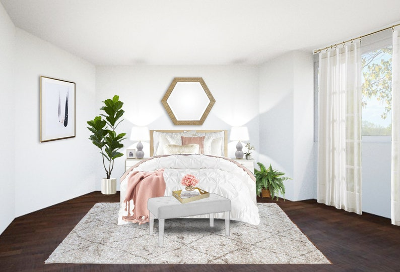 Scandinavian Bedroom Online Interior Design Package EInterior Designer Simple Online Bedroom Designer