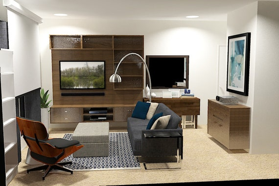 Apartment Interior Design -Modern Living Room Designs -Modern Apartment  Design -Masculine Interior Designs