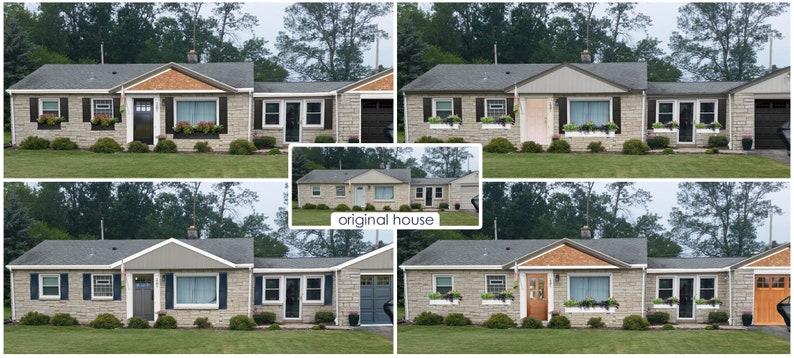 Exterior House Paint Color Consultation Home Color Palette Home Paint Selections