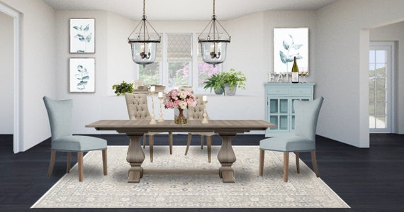Coastal Dining Room Designs -Neutral Dining Room Designs -Rustic Dining  Room Designs
