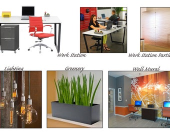 Commercial Office Interior Design Package