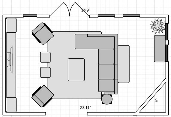 Interior Floor Plan Furniture Placement Interior Space Planning Any Room