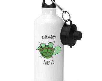 Awkward Turtle Sports Bottle