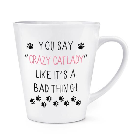 Behind Every Great Person Is A Great Cat 17oz Large Latte Mug Cup Funny