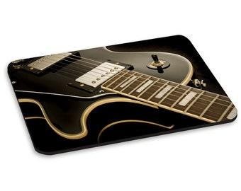 Electric Guitar Laying Down PC Computer Mouse Mat Pad