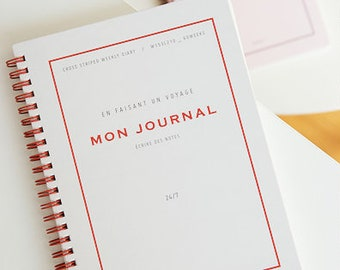 Monthly Journal / Diary / Monthly & Weekly Planner / 2018 Planner / Planner 2018 / Agenda / Journal / Diary / Bullet Journal