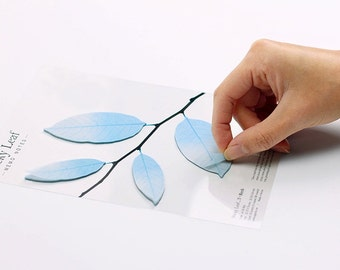 leaf stationery etsy