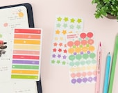 Transparent Planner Sticker Pack ver.3/ Stationery / Diary Deco Stickers / Scrapbooking Stickers / Decorative Stickers / Stickers Pack