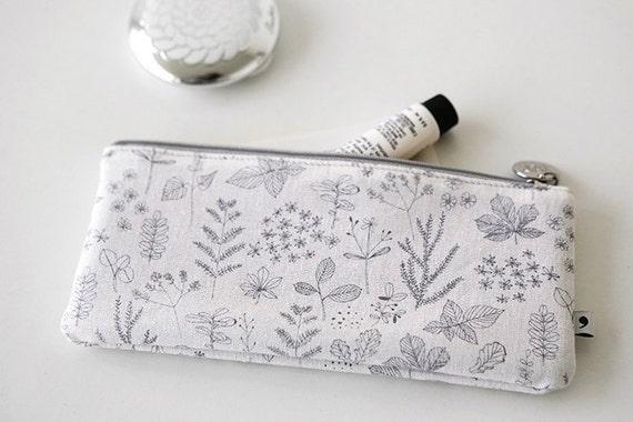 Étui à crayons [Nature: feuille] cas / cas feuille] de stylo / crayon de poche / stylo pochette / trousse son sac à fermeture éclair / maquillage sac / pochette pour maquillage / fournitures scolaires b9d1b6