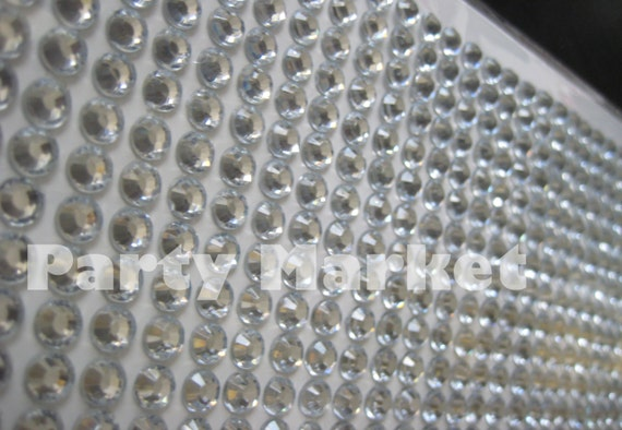 6mm Diamante Cristal Bling Decoración Adhesivo Pegatina Boda Jarrón floral 504 un