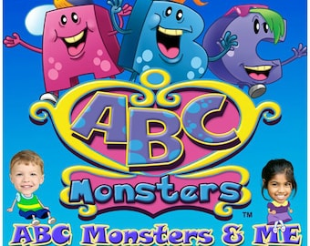 ABC Monsters & Me Personalised DVD's starring YOU!!!