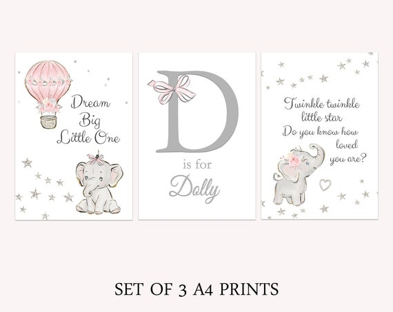r is for rhino  quote a4 gloss print Picture UNFRAMED nursery.animal
