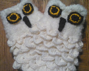 Made to order Owl fingerless gloves