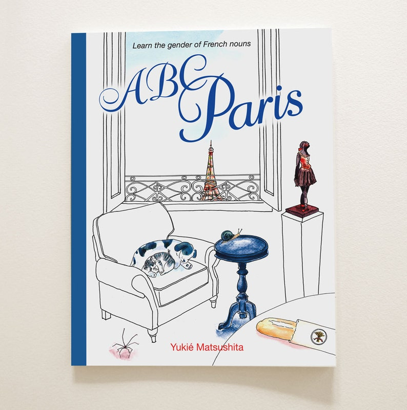 ABC Paris  Souvenir book  Learn over 100 French words image 0
