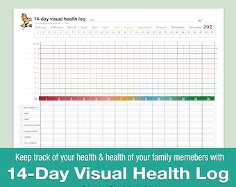 14-Day Visual Health log