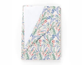 Liberty Print Baby Blanket - Bell Flower