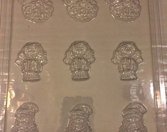 Christmas cupcake toppers/pieces chocolate mold