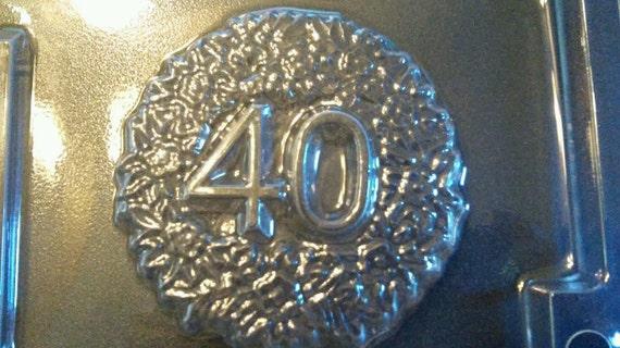 moule de sucette chocolat célébration 40e