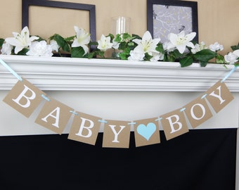 baby boy shower decorations, party decorations, Baby Shower Banner, party supplies, gender reveal ideas, party banner, gender reveal party