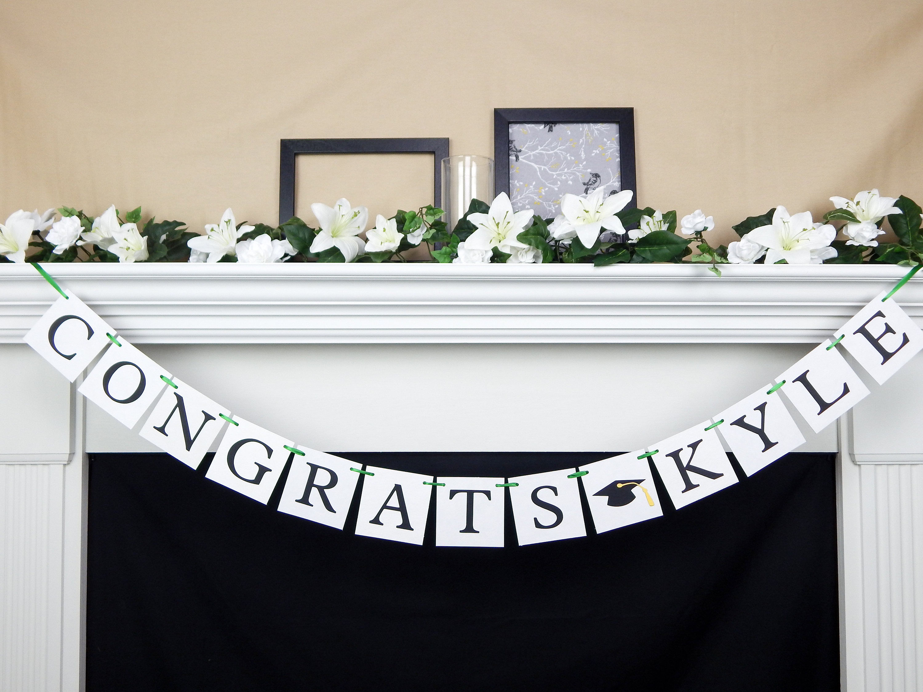 Congratulations You Did It Personalized Banner Party Decoration