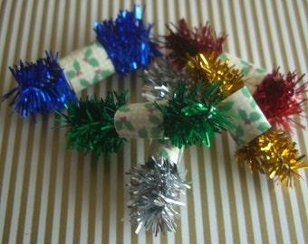 Dolls House Miniature  Christmas Tinsel