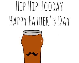 IPA Beer Card - Congrats - Birthday - Father's Day