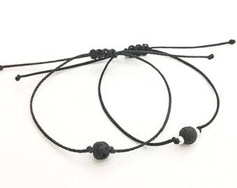 Lava Bead Diffuser Bracelet, Bracelets for Women, Lava Rock Jewelry
