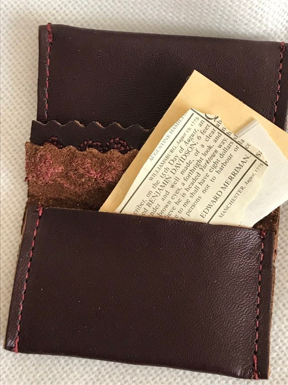 One Pleasant Company American Girl Felicity Wallet From Rescue Kit  ONLY