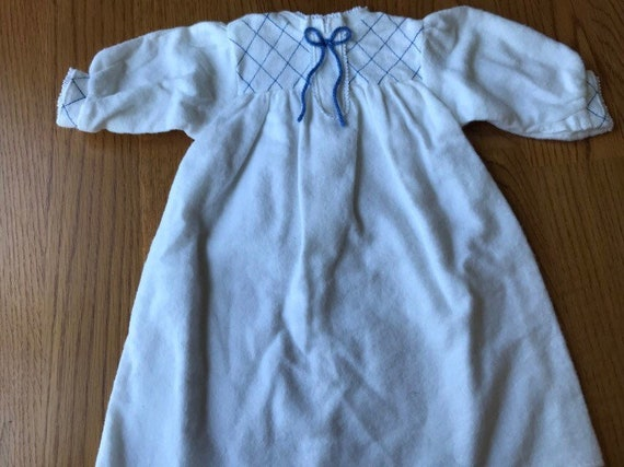 American Girl *KIRSTEN FLANNEL NIGHTGOWN* Tagged 1992 Pleasant Co~Fast Ship