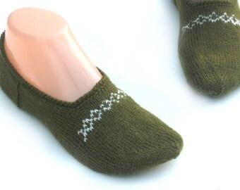 c0403c3a6a44f7 Knit slipper socks women
