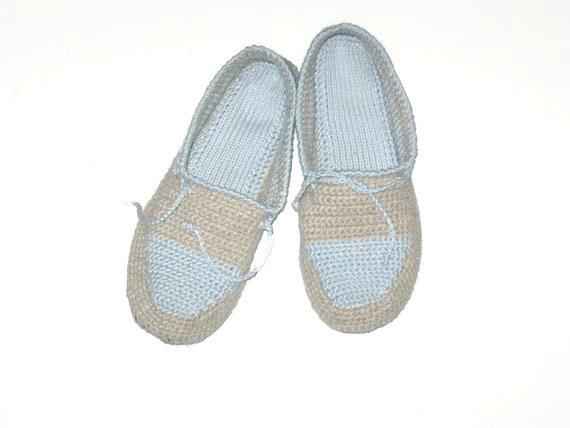 Womens Slippers Met Vilt Tong Haak Linnen Pantoffels Etsy