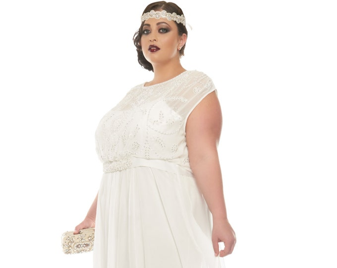 Plus Size Wedding Dress - Gatsbylady