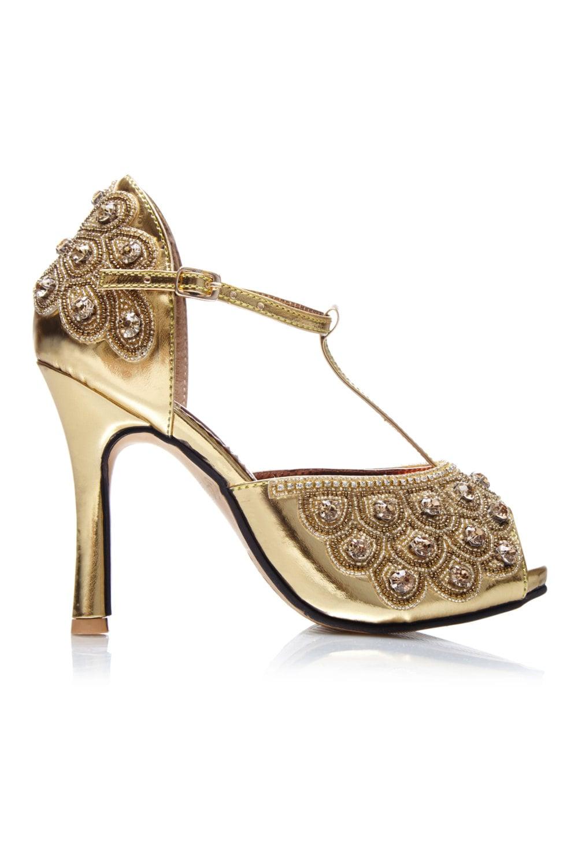 or garçonne part embelli femme chaussures sandales sandales sandales pompes t sangle mary jane vintage inspirés de la vingtaine charleston downton abbey art déco fait main e61cdb