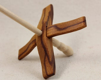 12.4.1 Marblewood Mini Glider Turkish Drop Spindle